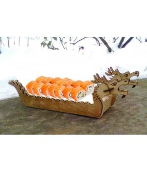 Поднос для СУШИ + Китайская Лодка -Дракон