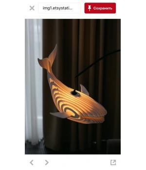 Лампа дельфин