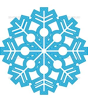 Снежинка (136)