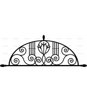 Ковка на заборе (25)