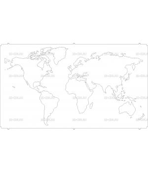 Карта Мира (2)
