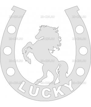 Лошадь (подкова)
