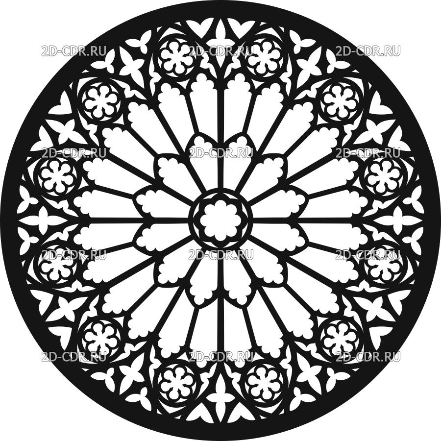 Векторный макет «Решётка (1399)»